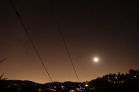 Lake Arrowhead night sky, Aug 2014