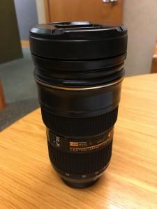 Nikon lens mug